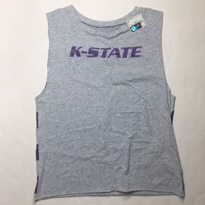 💜 K State Muscle 💪🏻 Tee 💜